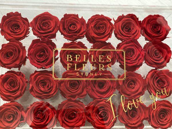 florist acrylic roses sydney